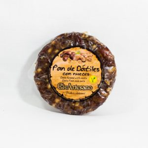 pan dátil con nueces